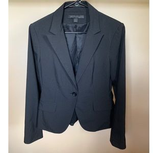 EXPRESS BLACK PINSTRIPED SUIT JACKET BLAZER